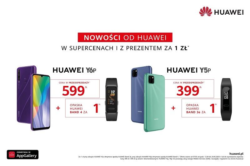 Huawei - kampania w radiu i TV
