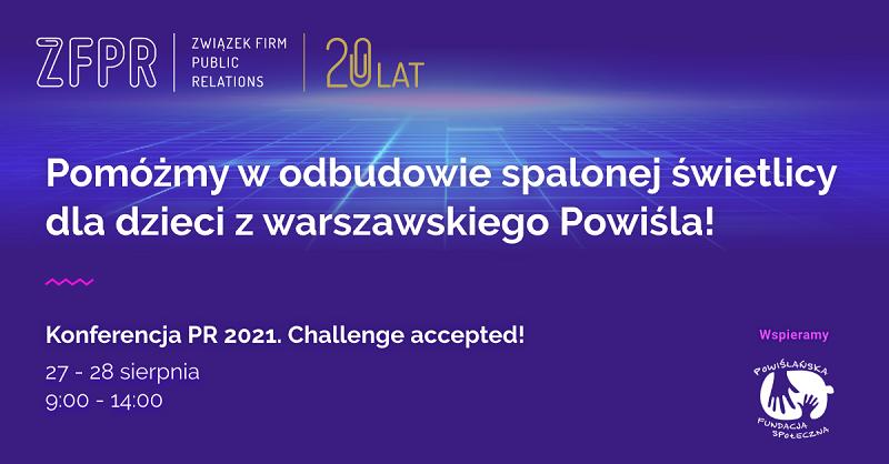 1200 x 627_Uczestnicy konferencji ZFPR wesprą cel charytatywny